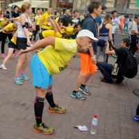 Разминка перед марафоном :: Ростислав