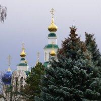 Купола Свято-Никольского собора в Армавире :: Игорь Сикорский