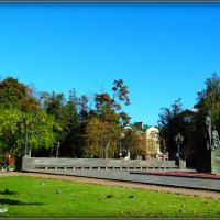 Памятник Пушкину и крестьянке. Псков. :: Fededuard Винтанюк