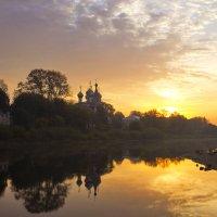 Утро на Вологдой :: Владимир Ячменёв