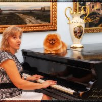 Ноктюрн для пианино с собакой :: Leo Alex Photographer