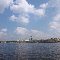 Вода и небо с полоской града Петрова :: Наталья