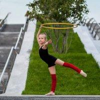 юная гимнастка :: Екатерина Overon