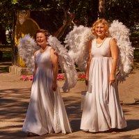 Ангелы в городе :: Константин Селедков