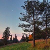 Вечер с луной :: Валерий Талашов