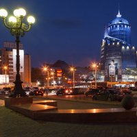 Самарский железнодорожный вокзал :: Николай Алехин