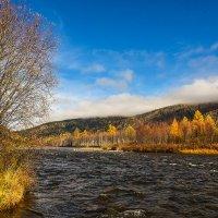 Саяны река Ус. :: юрий Амосов