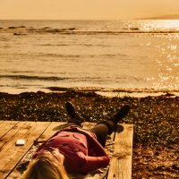 Отдых на закате :: Александр Засыпкин