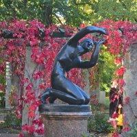 статуя в перголе Ораниенбаума :: Елена