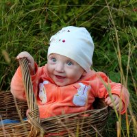 пошли по грибы....а нашли внучку :: Виктор Филиппов