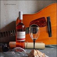 Розовое вино имеет статус романтического... :: Anna Gornostayeva