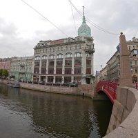 Красный мост :: Дмитрий Лебедихин
