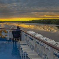 Фотограф на закате :: Valeriy Piterskiy