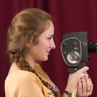 Старинная кинокамера :: Елена Баландина