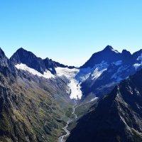 Домбай, ледник и ущелье Птыш :: Андрей