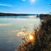 Утонувшее солнце. :: Виктор Заморков