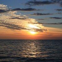 Закат 10 10 2015 Черное море :: valeriy khlopunov