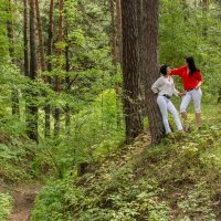 Двое в лесу) :: Дмитрий Сахнов