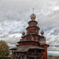 Деревянные церкви руси (Суздаль) :: Nikolay Ya.......