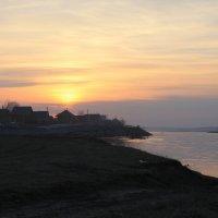 закат на реке Чусовая :: Ольга Мамаева