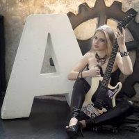 Анна с гитарой :: Daria Egorova