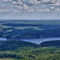 Панорама Ильменского заповедника :: Стил Франс
