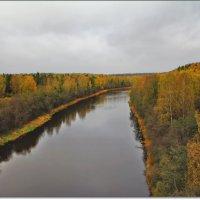 вид на Волгу с Климовсеого моста :: Дмитрий Анцыферов