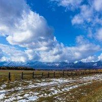 Горы в облаках :: Анатолий Иргл