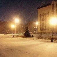 Зимний вечер :: Евгений Пикаревский