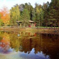 домик в лесу :: Ольга (Кошкотень) Медведева