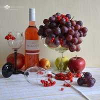 Вино летнего жаркого вечера. :: Anna Gornostayeva