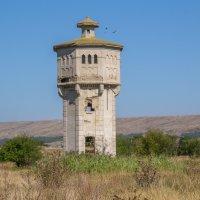 Старая водонапорная башня для заправки водой паровозов в ст. Николаевская... :: Юлия Бабитко