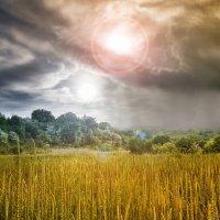 Вечер на планете двух солнц :: Булавин В.