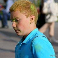 разноцветный мальчик :: Олег Лукьянов