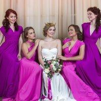 Свадьба в сочных тонах :: Юлия Лемехова