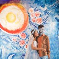 Marc Chagall: Eda Okada (вольная репродукция) #DasModell 9.0 :: Владислав Мустафин