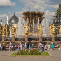 Дружба народов в фонтане :: Павел Заславский