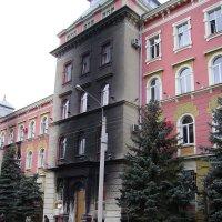 Здание  СБУ  Украины  в  Ивано - Франковске :: Андрей  Васильевич Коляскин