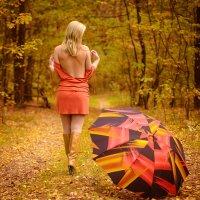 Сегодня ты уходишь в осень... :: Игорь Сидорук