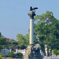 Памятник затопленным кораблям :: Вера Щукина