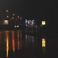 вечернее шоссе предместья :: Наталья Золотых-Сибирская