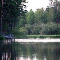 Монастырское озеро :: Виктор Филиппов