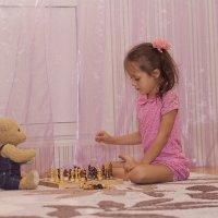 игра в шахматы :: Аnastasiya levandovskaya