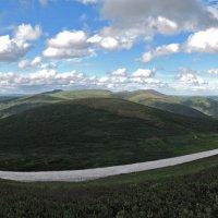 Ивановские озёра. Фото с вершины :: Сергей Карцев