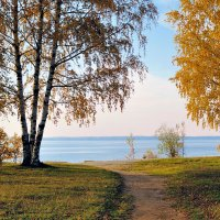 Осень на Селигере :: Александр