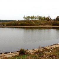 Река Недна перед плотиной. :: Борис Митрохин