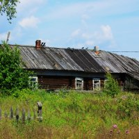 Деревня Сальнаволок. :: Сергей Кочнев