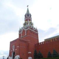 Спасская башня с часами-курантами :: BoxerMak Mak