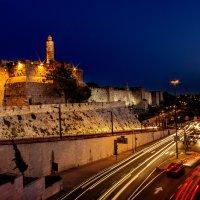 Ночной Иерусалим :: Nadin