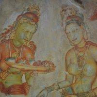 Шри Ланка. Древние наскальные рисунки. :: Елена Савчук